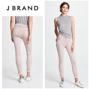 J Brand 835 Mid Rise Crop Vinca Destruct Jeans 26